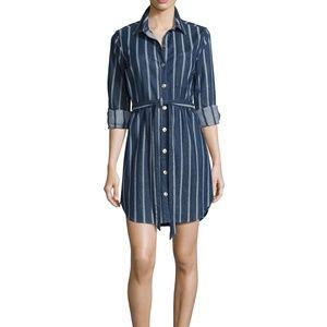 NWT 7 For All Mankind Denim Shirt Dress